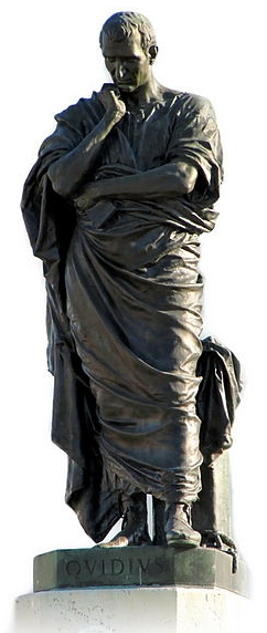 Image of Ovid statue