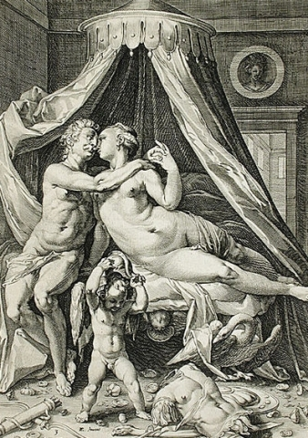 Venus, Mars, and Cupid image