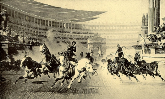 Image of race-day at the Circus Maximus