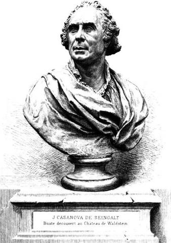 Portrait image of Giacomo Casanova