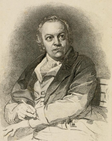 Portrait image of William Blake
