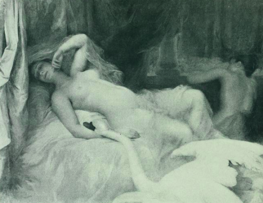 Image of Leda and the swan