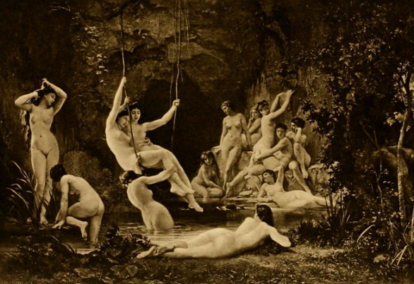 Image of nymphs