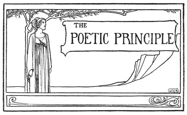 The poetic principle image
