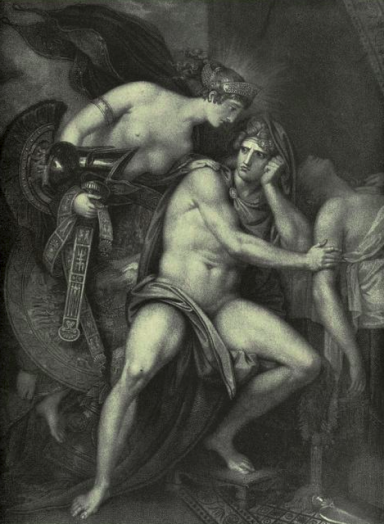 Image of 'Thetis Bringing the Armour to Achilles'