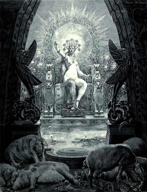 Image of Circe by Louis Chalon